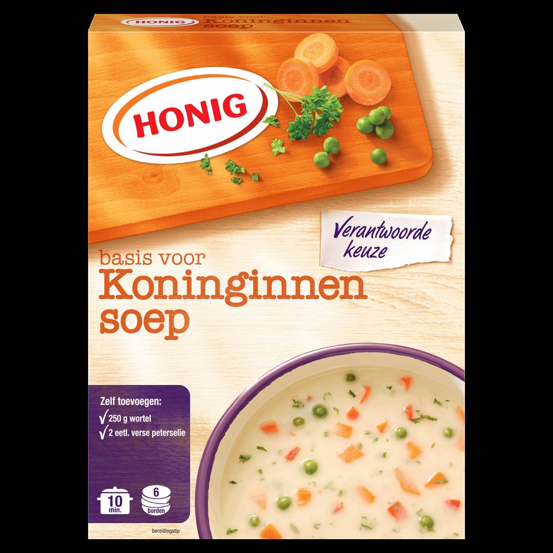 Productafbeelding Honig Soep Basis voor Koninginnensoep 98 g Doos