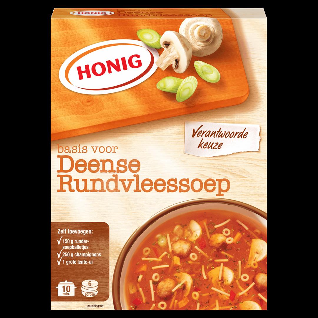 Productafbeelding Honig Soep Basis voor Deense Rundvleessoep 74 g Doos