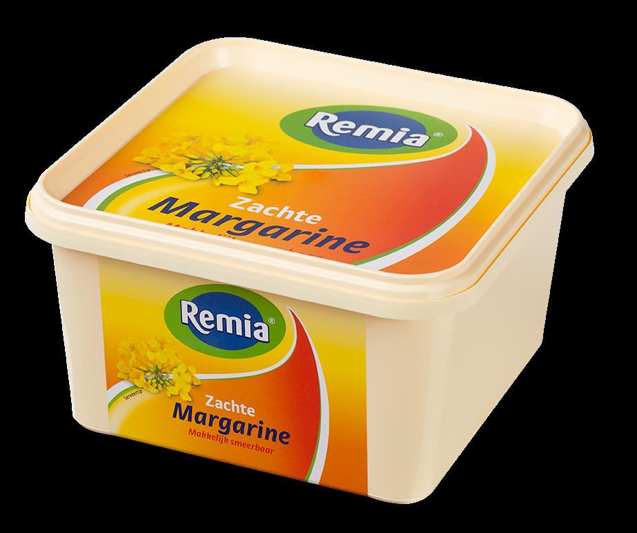 Productafbeelding Remia Zachte Margarine   Kuip 2 KG