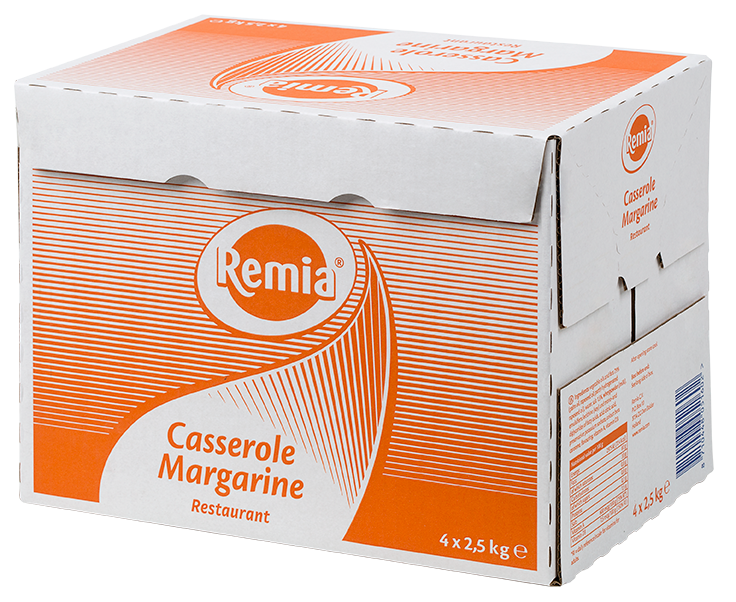 Productafbeelding Remia Casserole Margarine |  4 x 2,5 KG