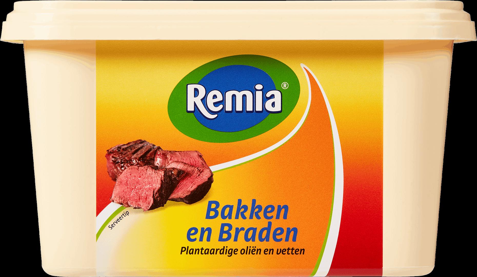 Productafbeelding Remia Bakken en Braden Plantaardig | Kuip 2 KG