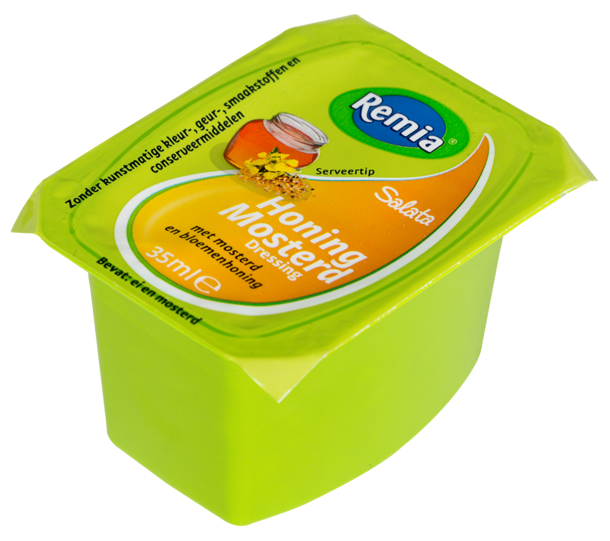 Productafbeelding Remia Honing Mosterd Dressing | Cups 54 x 35 ML