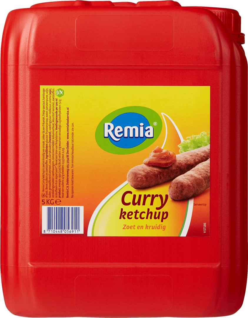 Productafbeelding Remia Curry Ketchup | Can 5 KG