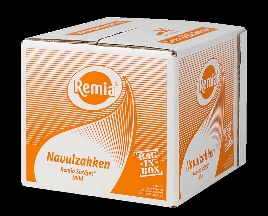 Productafbeelding Remia Satésaus Mild | Bag-in-Box 3 x 3,5 L