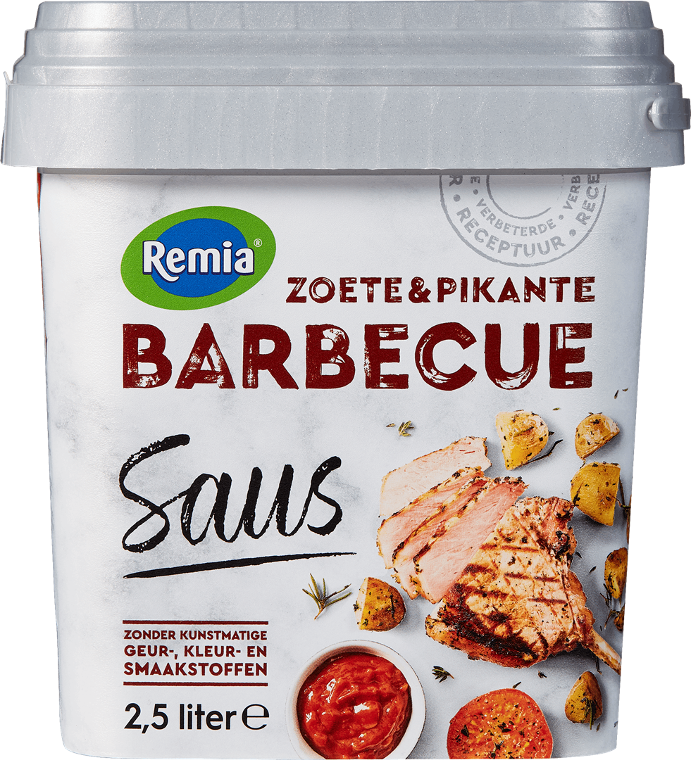 Productafbeelding Remia Barbecuesaus   Emmer 2,5 L