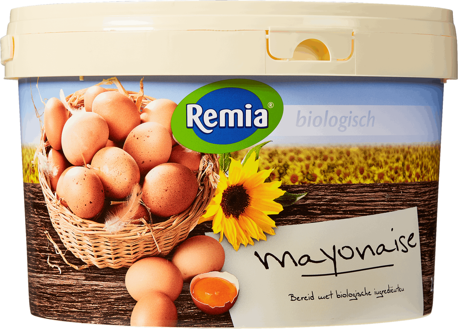 Productafbeelding Remia Biologische Mayonaise   Emmer 2,5 L