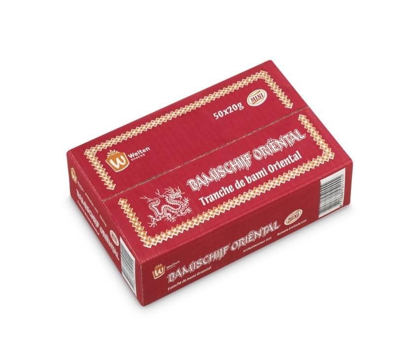 Productafbeelding 5155 Bamischijven Oriëntal mini 50x20g