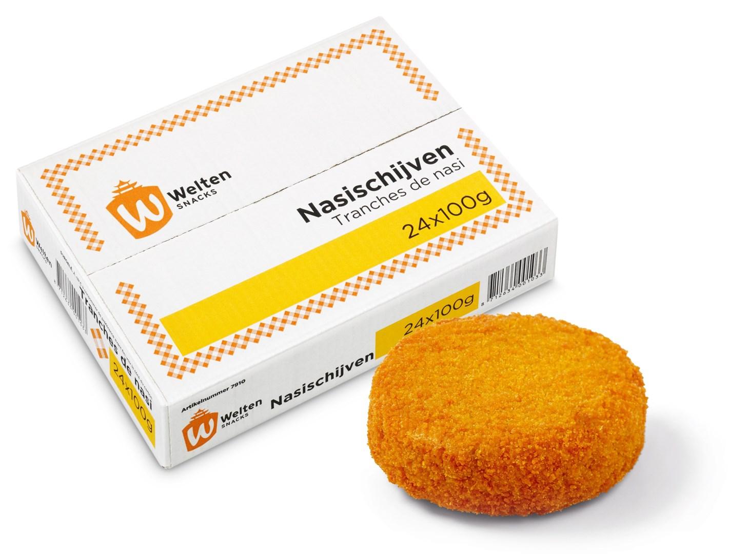Productafbeelding Welten Snacks Nasi Schijven 24 x 100 gram