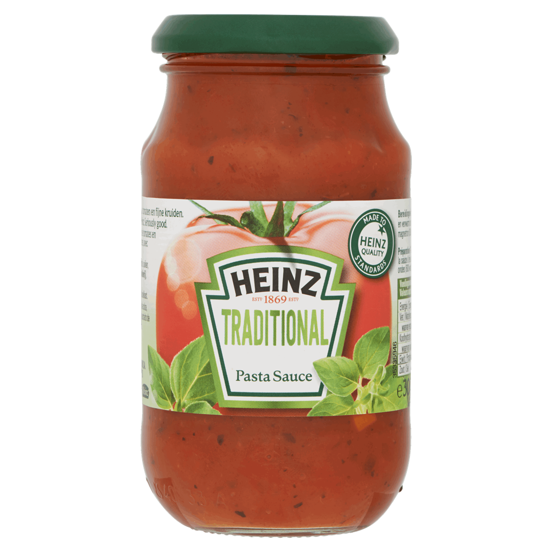 Productafbeelding Heinz Pastasaus Traditional 300 g Bus