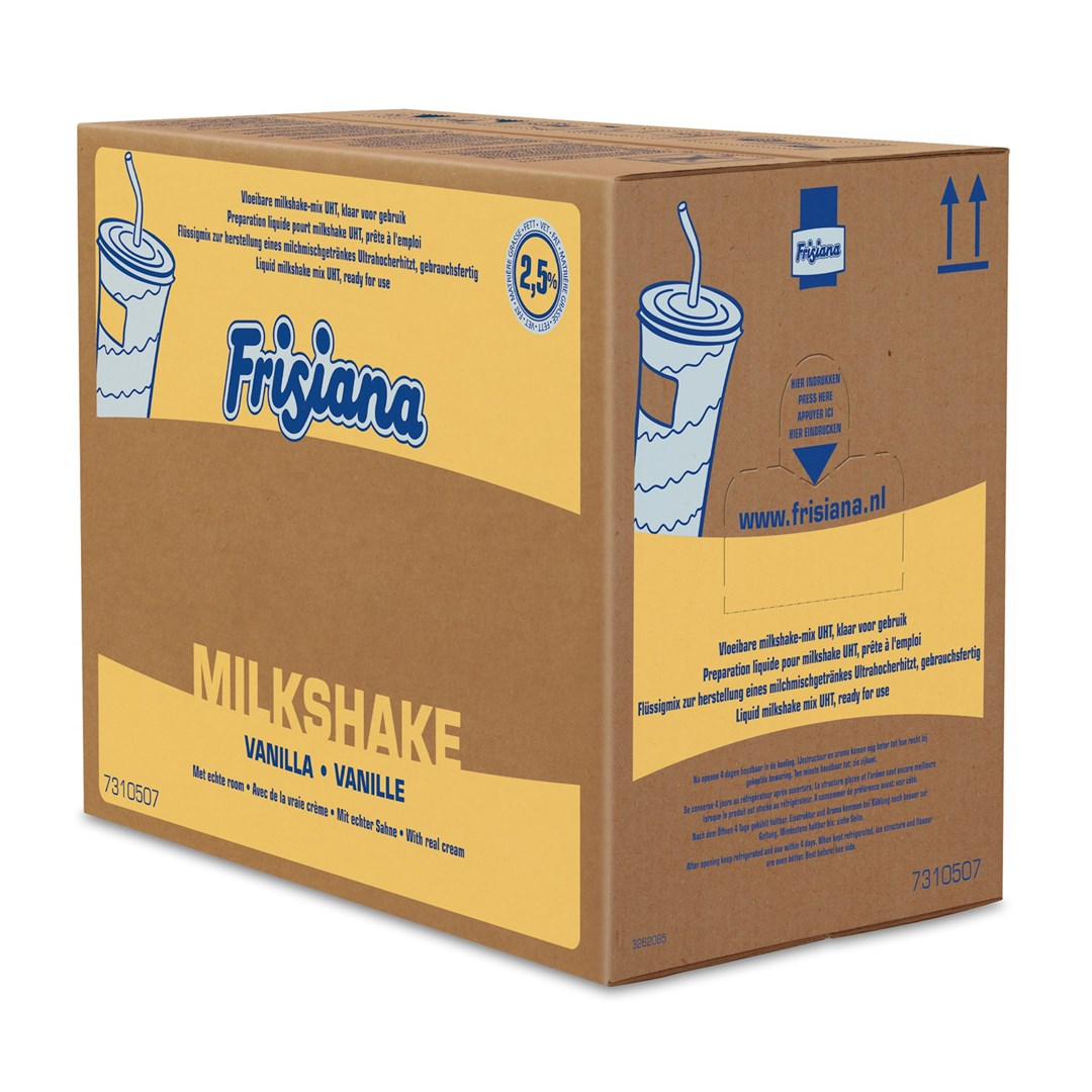 Productafbeelding Frisiana Milkshake Mix Vloeibaar 2,5% MV