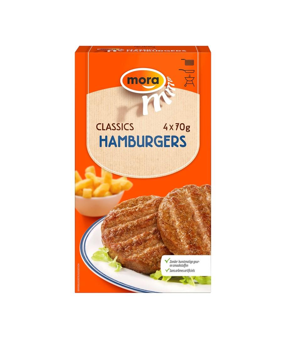 Productafbeelding 9416 Hamburgers 4x70g