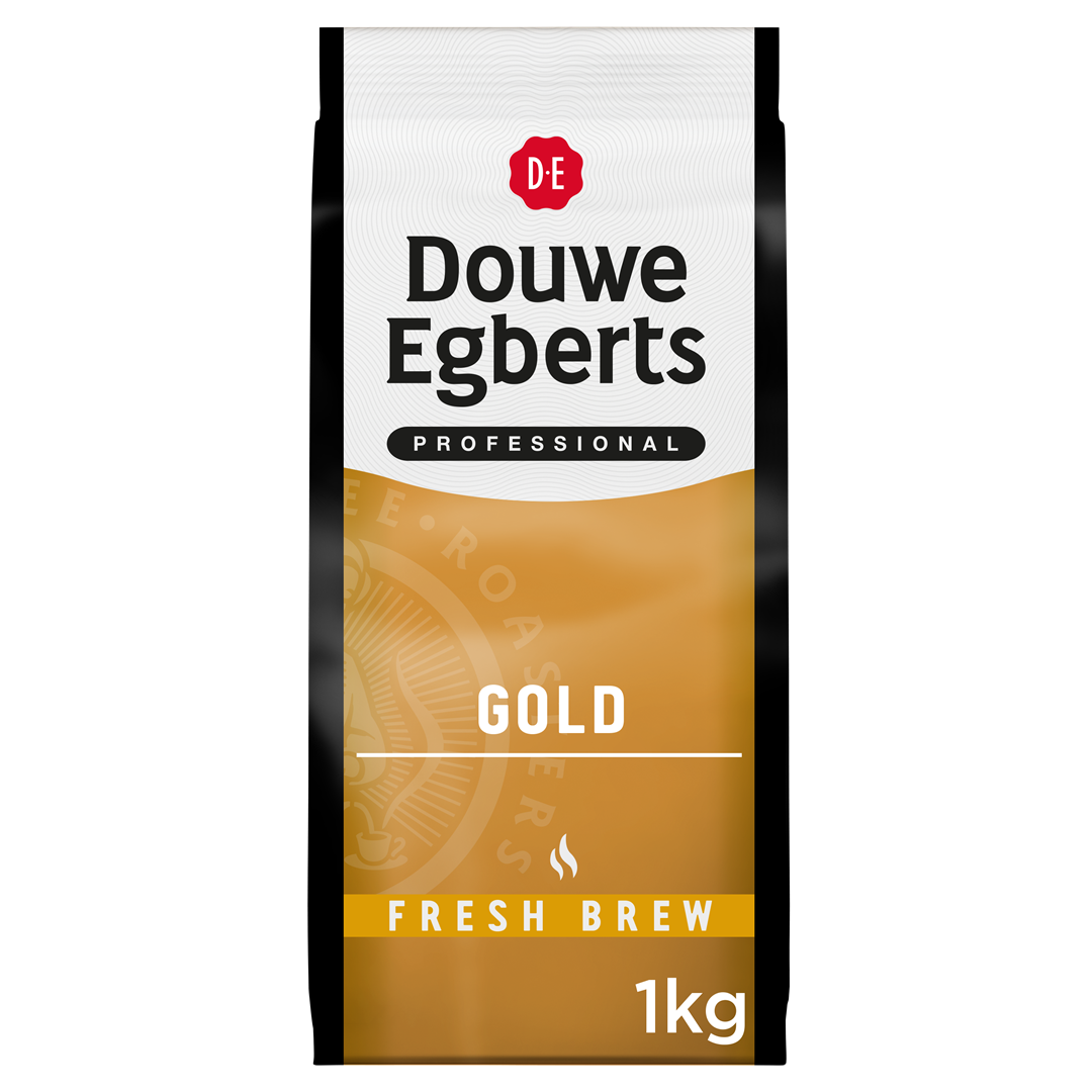 Productafbeelding Douwe Egberts Fresh Brew Gemalen Koffie Gold 1kg