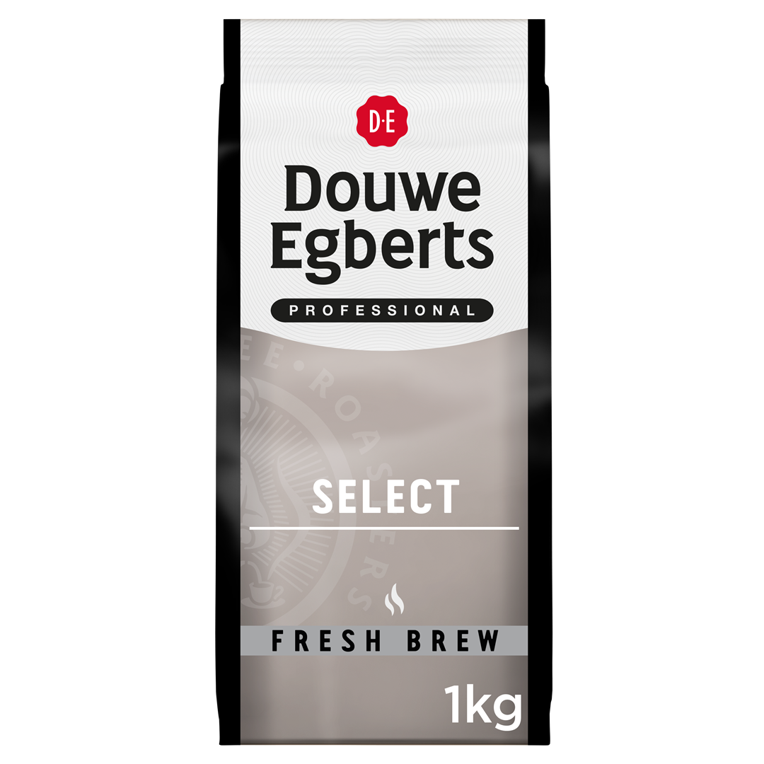 Productafbeelding Douwe Egberts Fresh Brew Gemalen Koffie Select 1kg