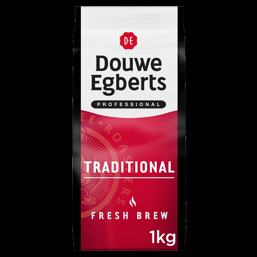 Productafbeelding Douwe Egberts Fresh Brew Gemalen Koffie Traditional 1000g