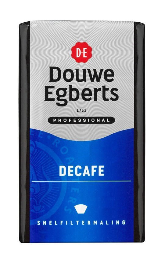 Productafbeelding Douwe Egberts Décafé Koffie Snelfilter Maling 250g