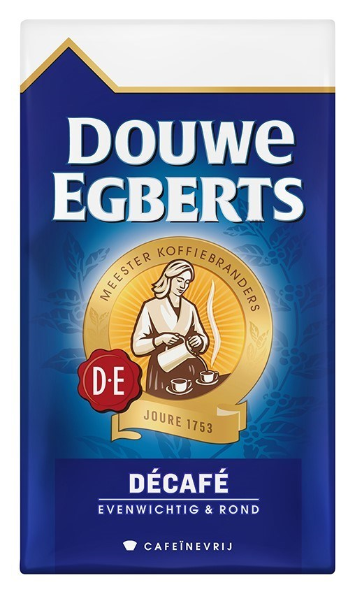 Productafbeelding Douwe Egberts Décafé Koffie Snelfilter Maling 500g