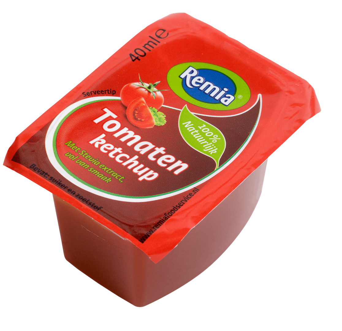 Productafbeelding Remia Tomaten Ketchup | Cups 54 x 40 ML