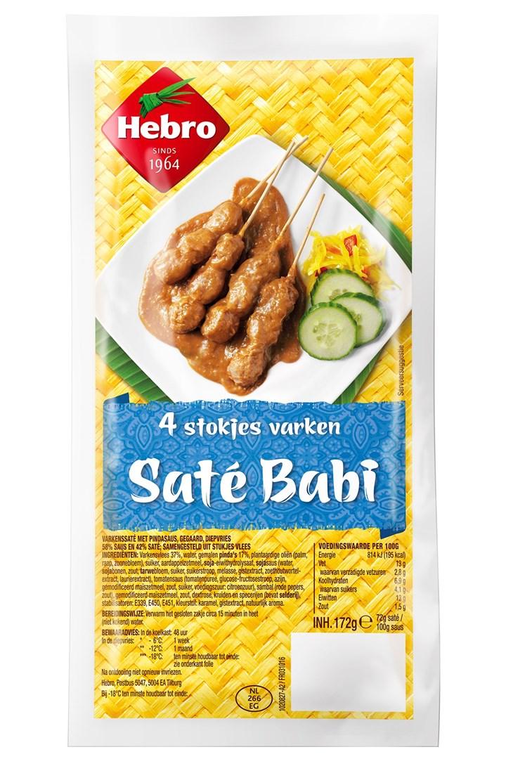 Productafbeelding 1075 Saté Babi 12x1x172g