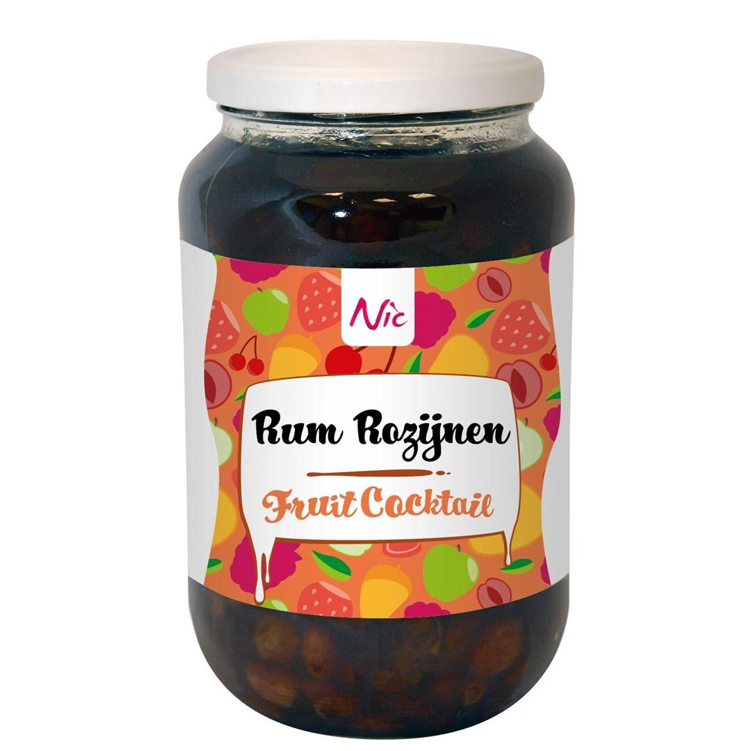 Productafbeelding Rum Rozijnen Fruitcocktail