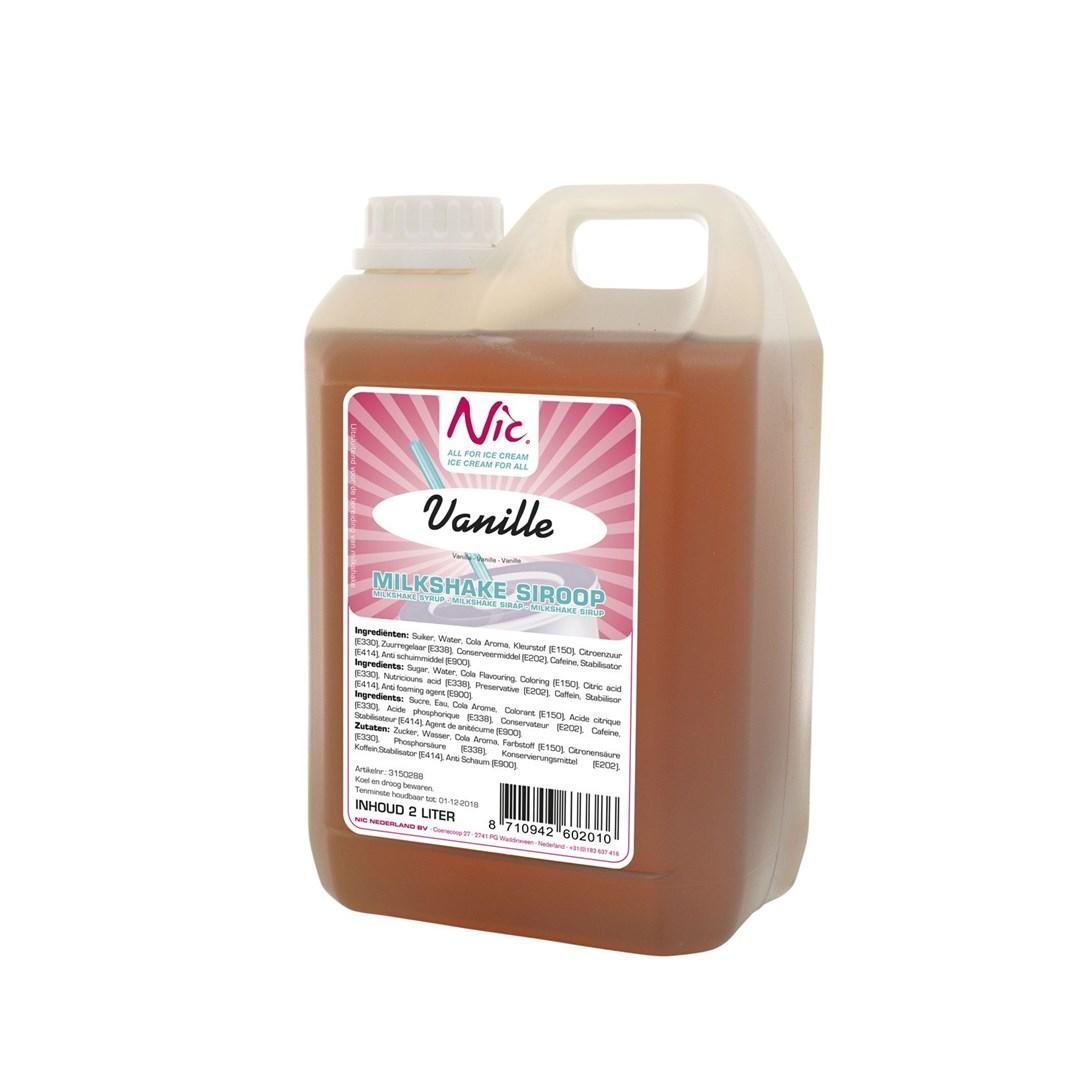 Productafbeelding Vanille Milkshake Siroop