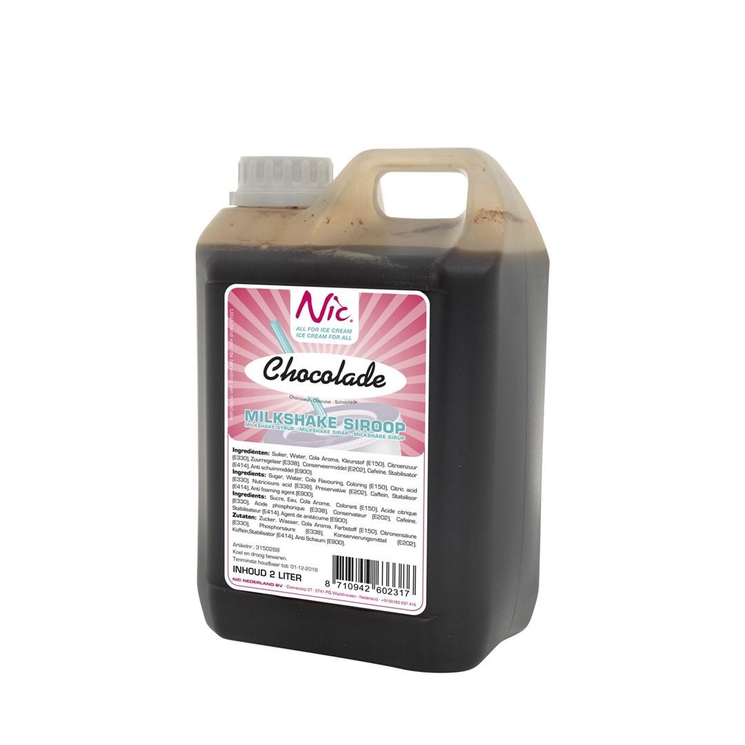Productafbeelding Chocolade Milkshake Siroop