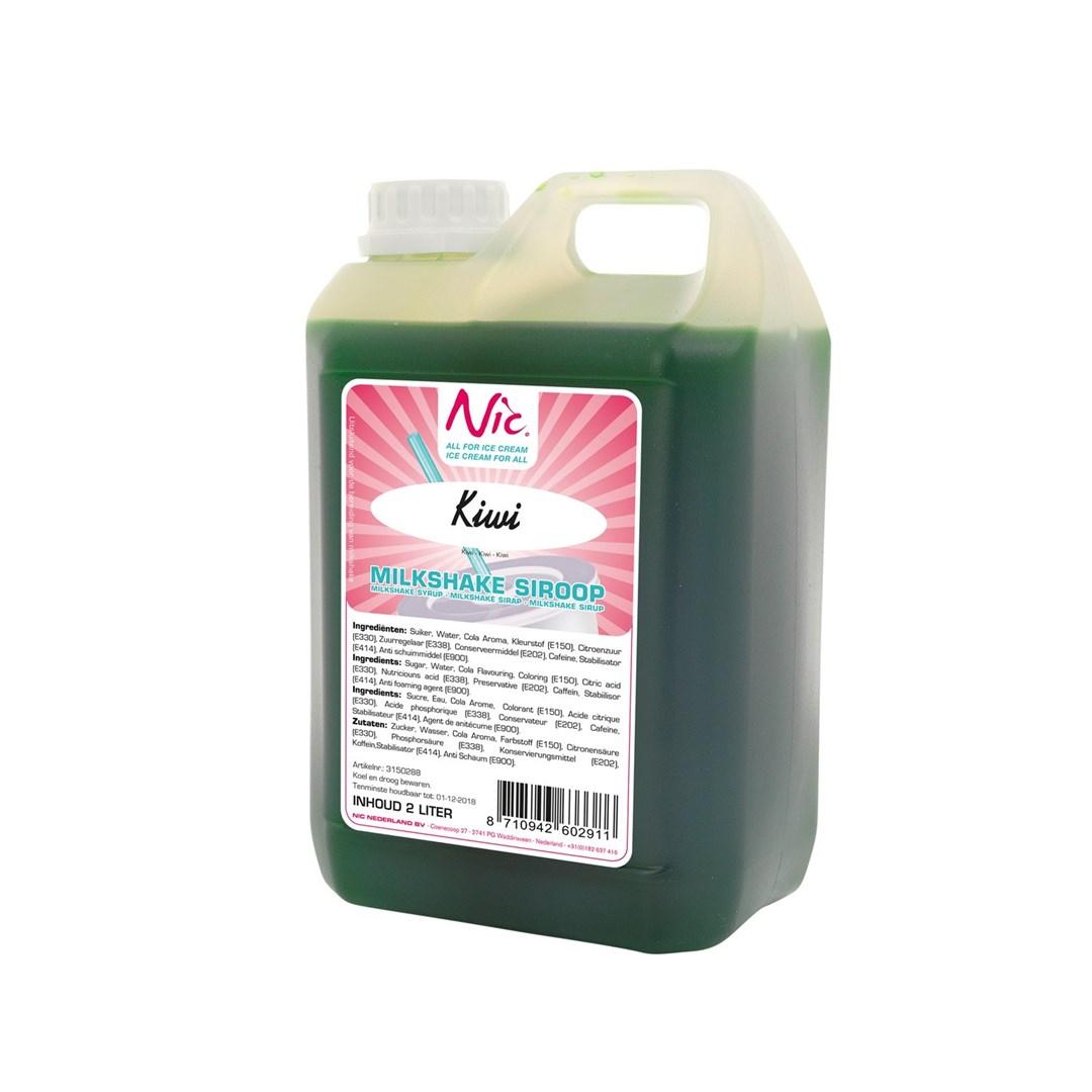 Productafbeelding Kiwi Milkshake Siroop