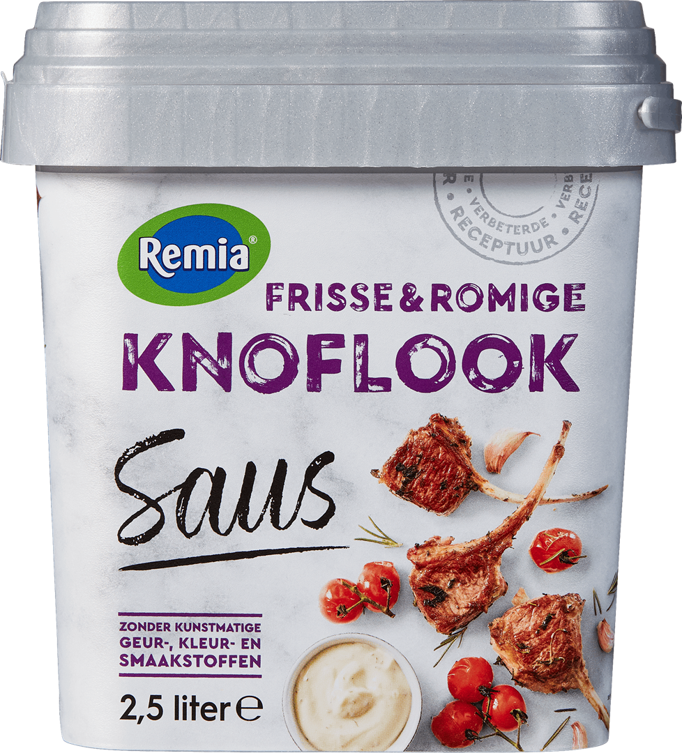 Productafbeelding Remia Knoflook Saus   Emmer 2,5 L