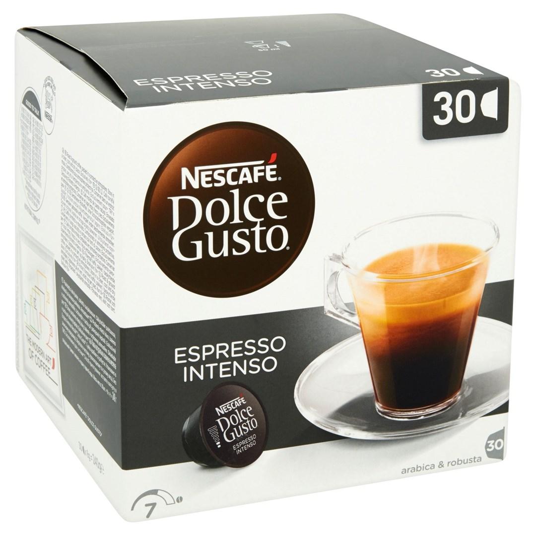 Productafbeelding NESCAFE DOLCE GUSTO Gemalen Koffie Espresso Intenso 240 Gram Doos