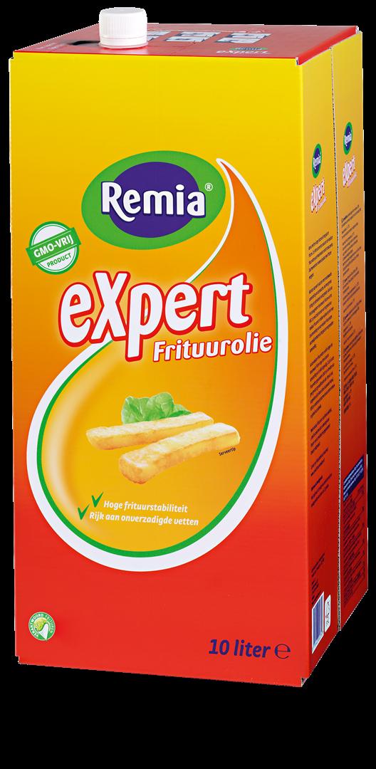 Productafbeelding Remia eXpert Frituurolie | Bag-in-Box 1 x 10 L