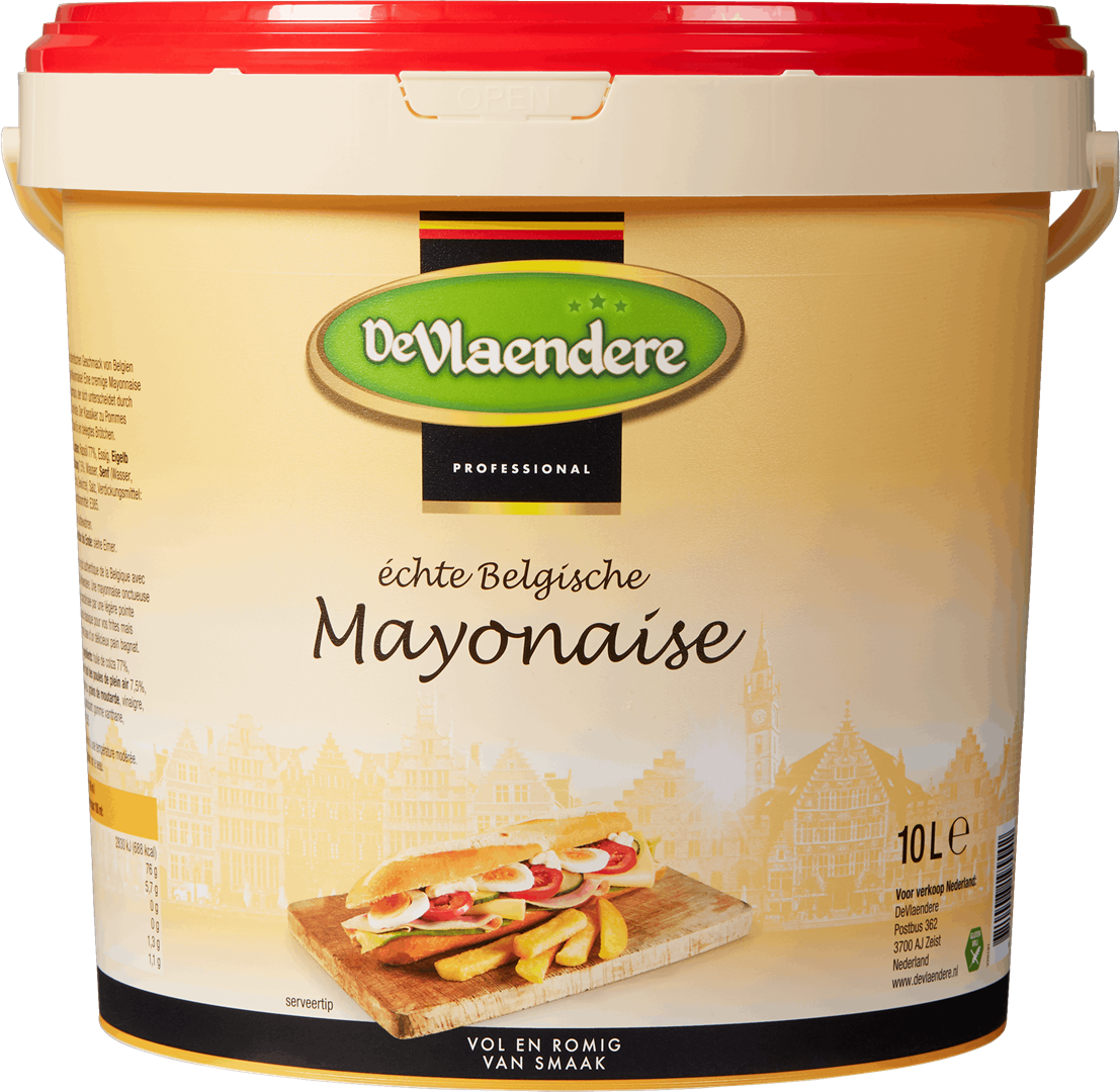 Productafbeelding DeVlaendere Mayonaise | Emmer 10 L