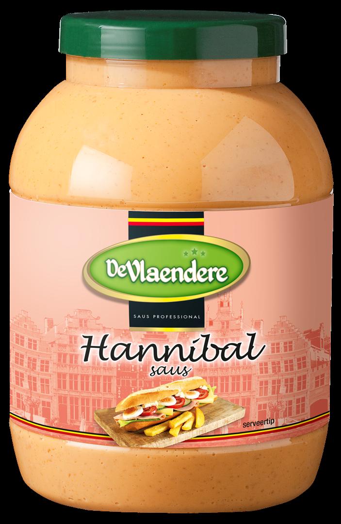 Productafbeelding DeVlaendere Hannibalsaus | Bokaal 3 L