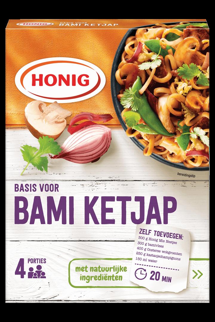 Productafbeelding Honig Mix Basis voor Bami Ketjap 64 g Doos