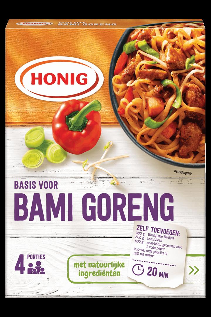 Productafbeelding Honig Mix Basis voor Bami Goreng 67 g Doos