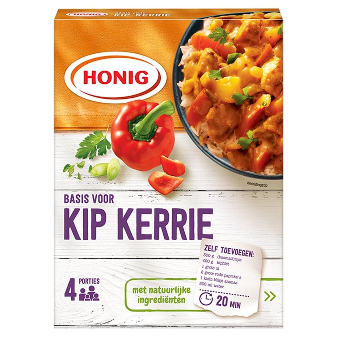 Productafbeelding Honig Mix Basis voor Kip Kerrie 59 g Doos