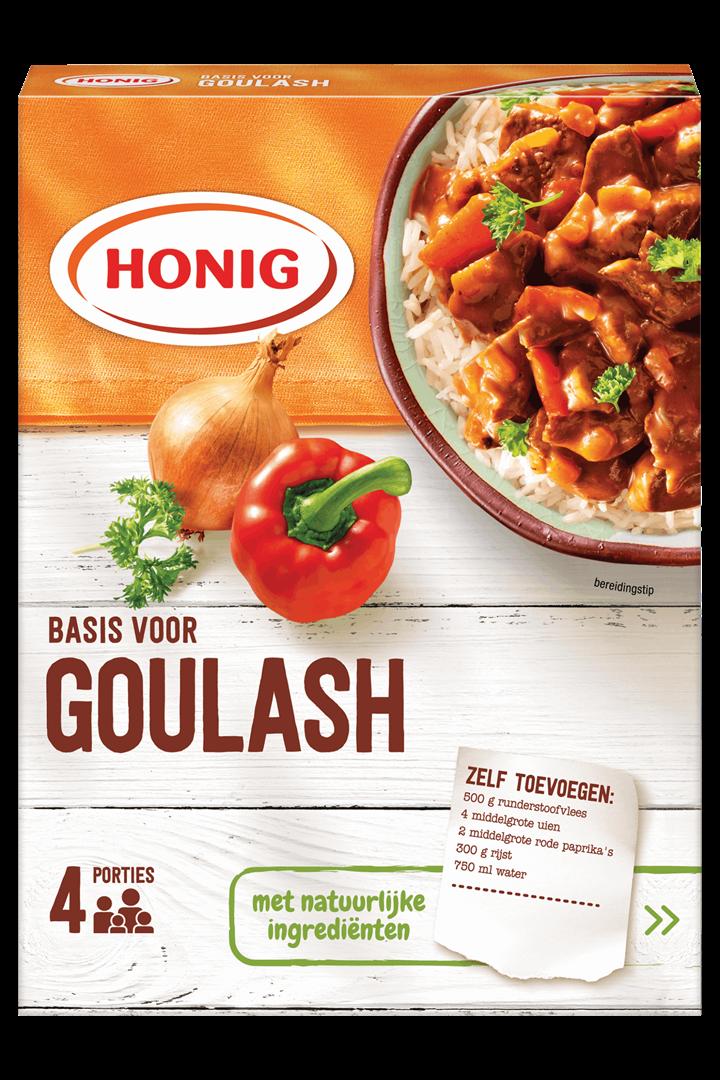 Productafbeelding Honig Mix in Droge Vorm Basis voor Goulash 78 g Doos