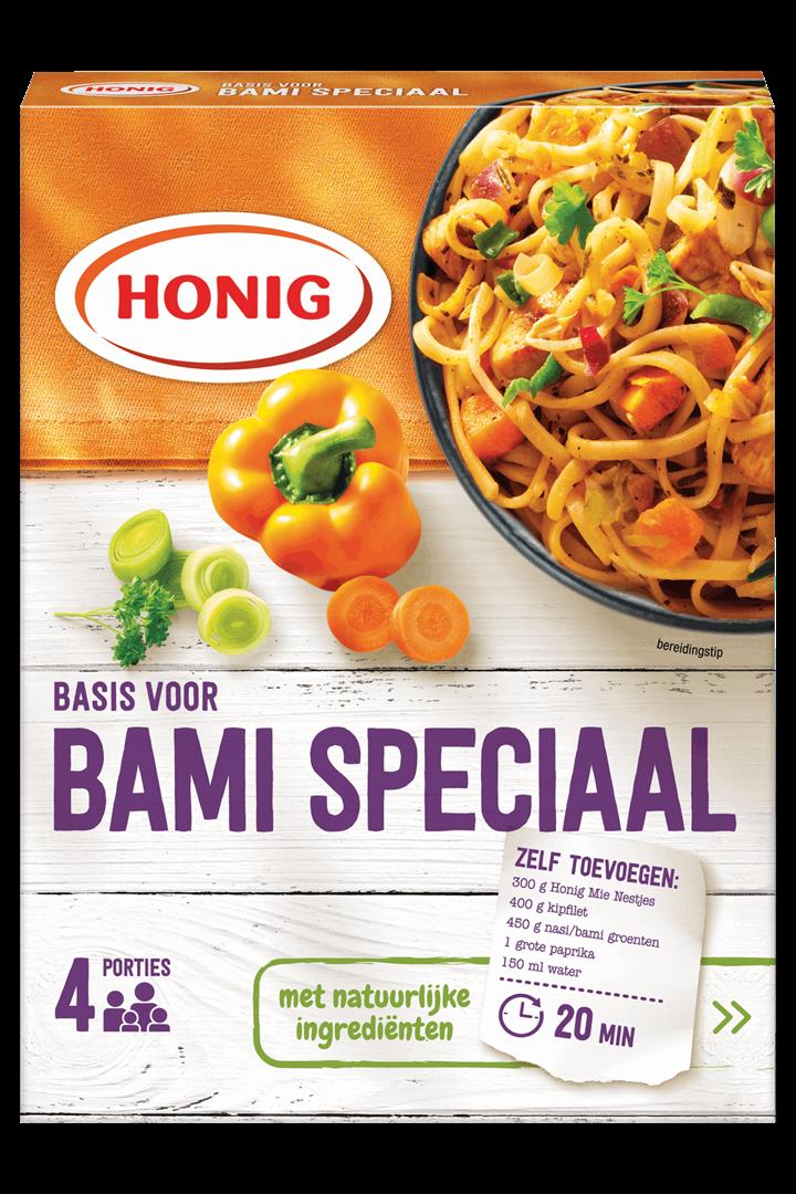 Productafbeelding Honig Mix Basis voor Bami Speciaal 36 g Doos