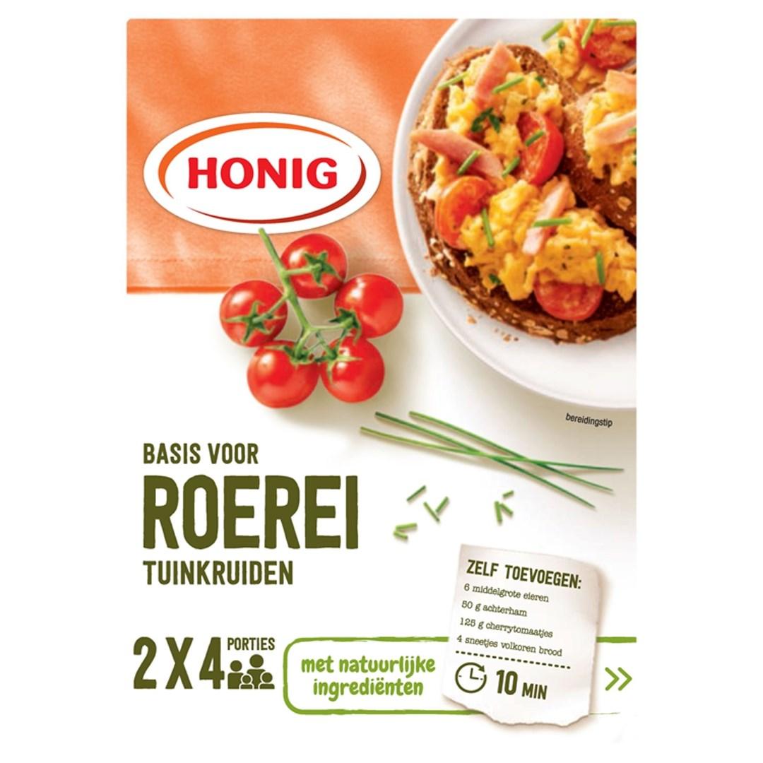 Productafbeelding Honig Mix in Droge Vorm Basis voor Roerei Tuinkruiden 2 x 17 g Doos