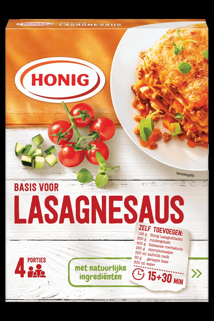 Productafbeelding Honig Mix Basis voor Lasagnesaus 125 g Doos