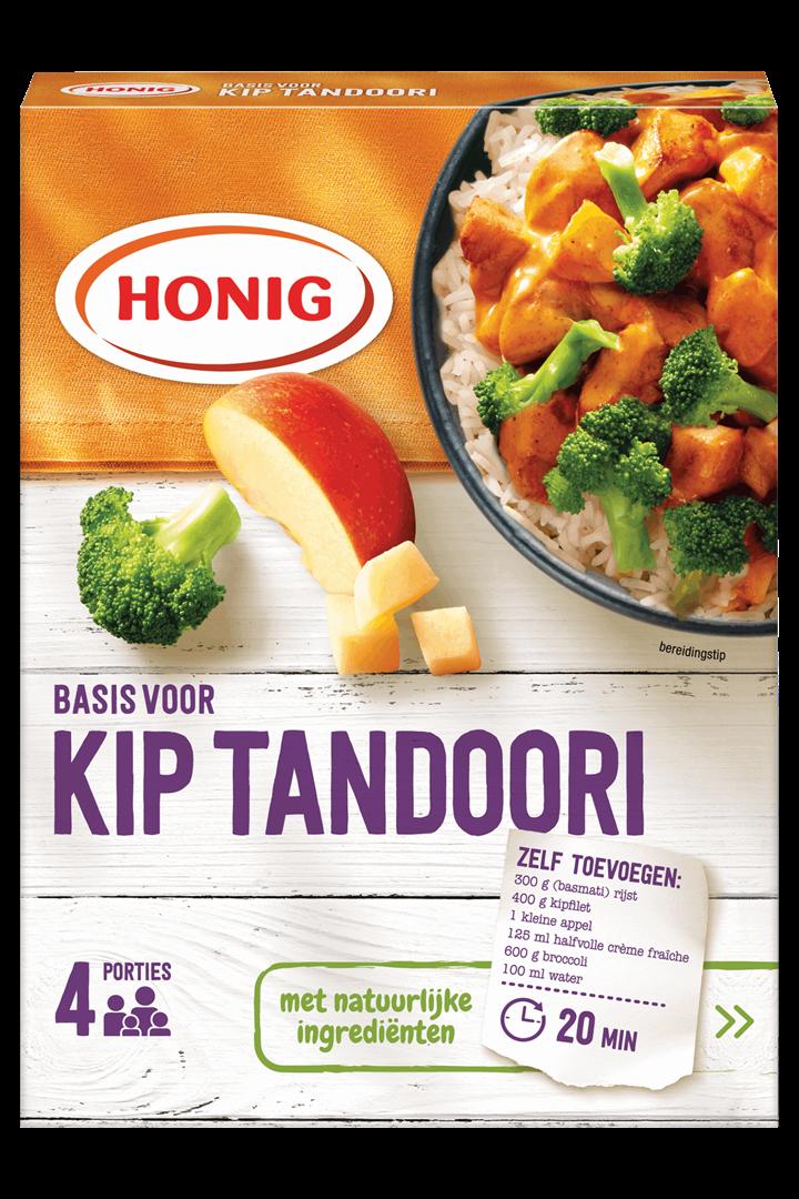 Productafbeelding Honig Mix Basis voor Kip Tandoori 48 g Doos