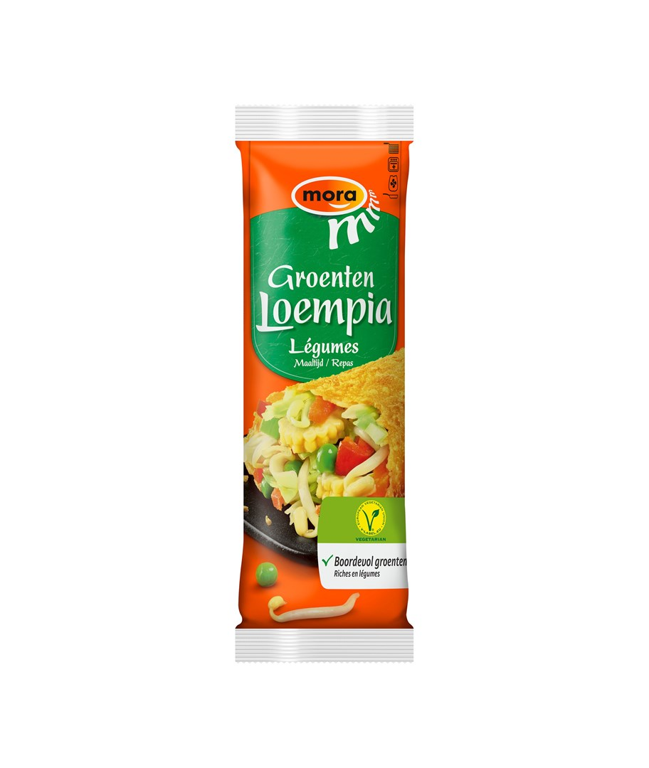 Productafbeelding 9571 Groenten Loempia Vegetarisch 12x175g