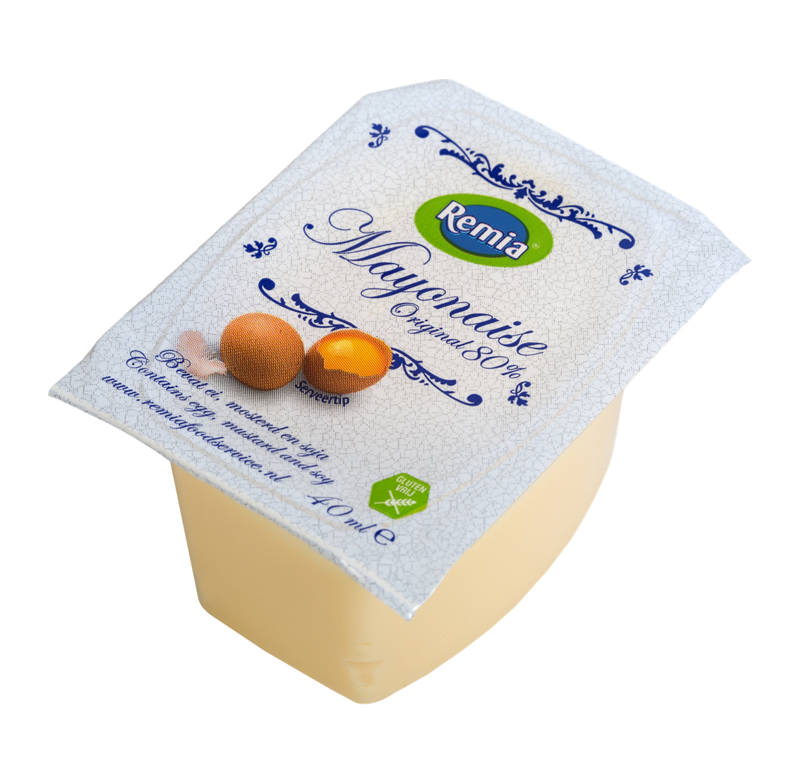 Productafbeelding Remia Mayonaise Original | Cups 54 x 40 ML