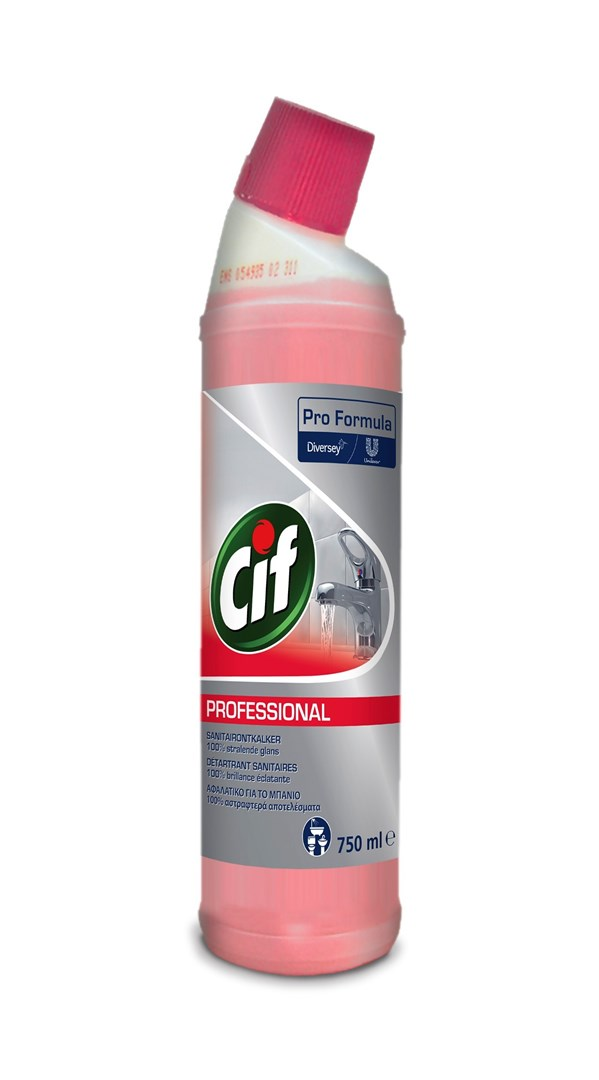 Productafbeelding Cif Pro Formula 2in1 Sanitairontkalker 750 ml