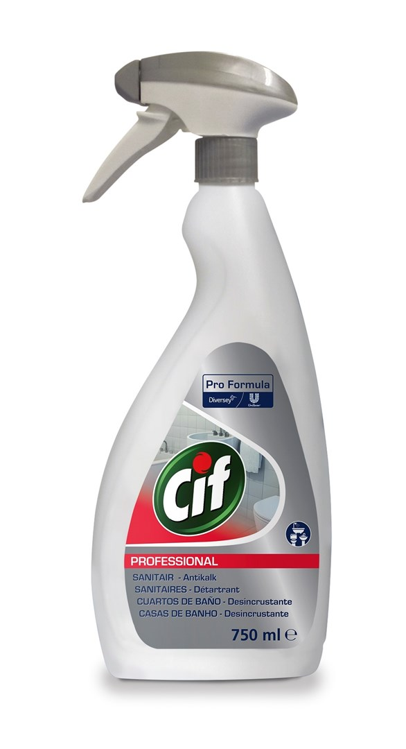 Productafbeelding Cif Pro Formula 2in1 Sanitairreiniger 750 ml sproeiflacon