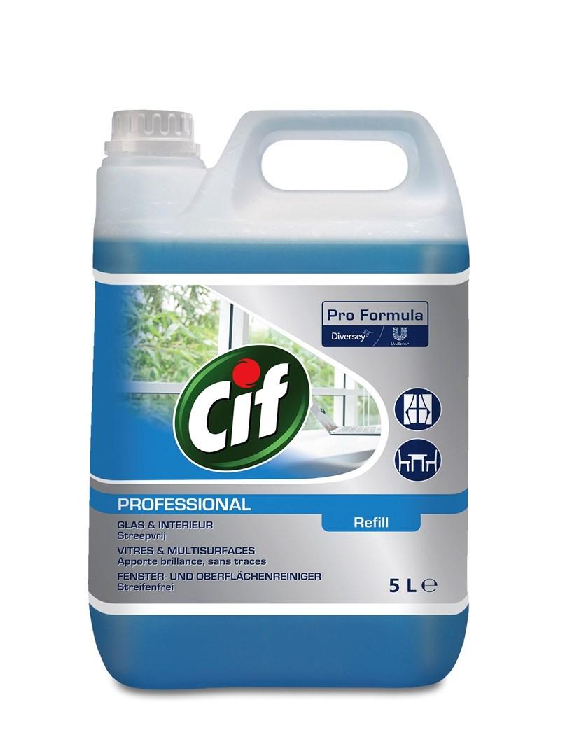 Productafbeelding Cif Pro Formula Glas & Interieurreiniger 5 L