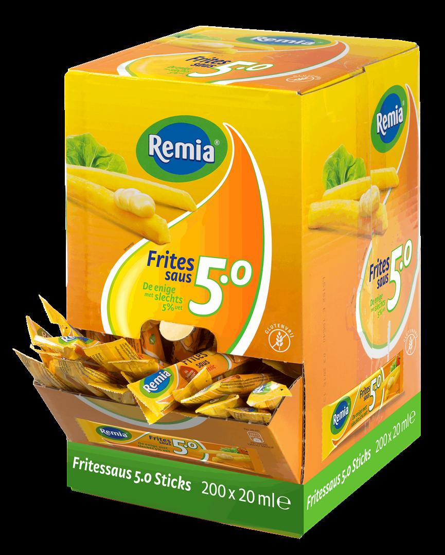 Productafbeelding Remia Fritessaus 5.0   Sticks 150 x 20 ML
