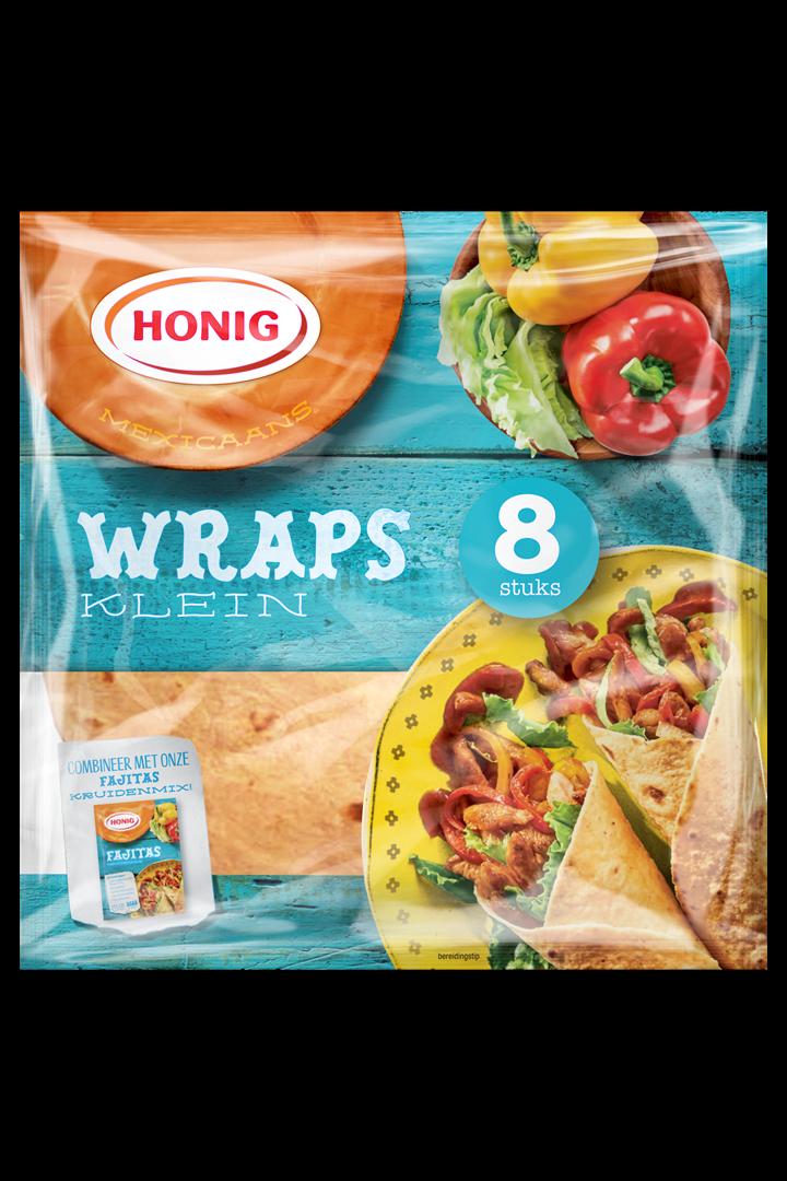 Productafbeelding Honig Wraps Mexicaans Klein 320 g Zak