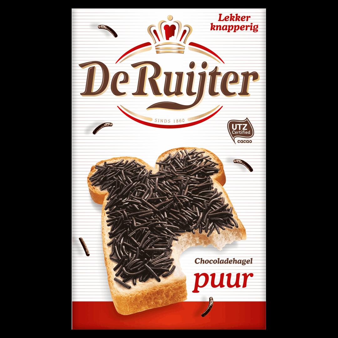 Productafbeelding De Ruijter Chocoladehagelslag Puur 380 g Doos