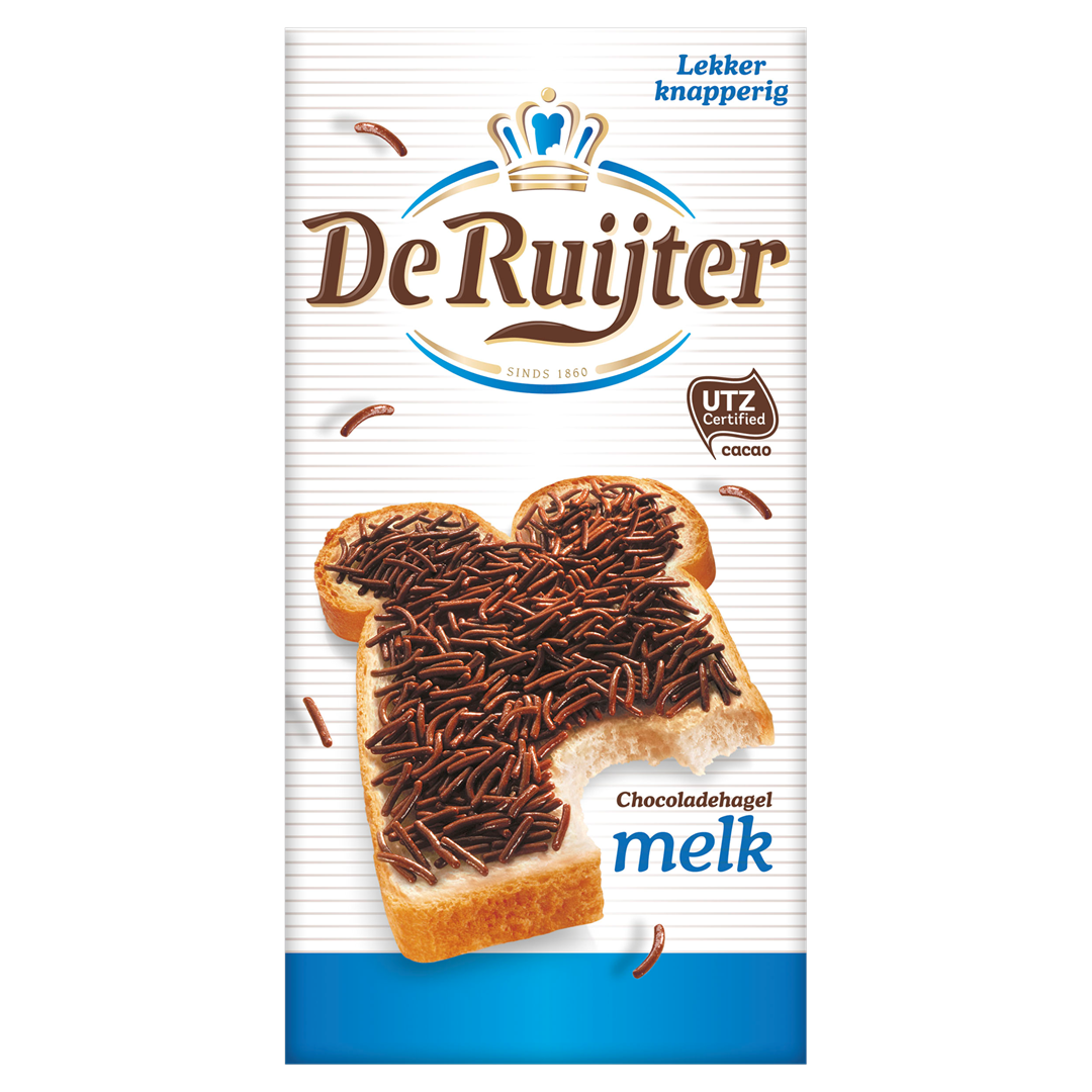 Productafbeelding De Ruijter Chocoladehagel Melk