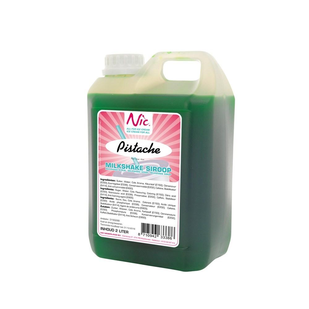 Productafbeelding Pistache Milkshake Siroop