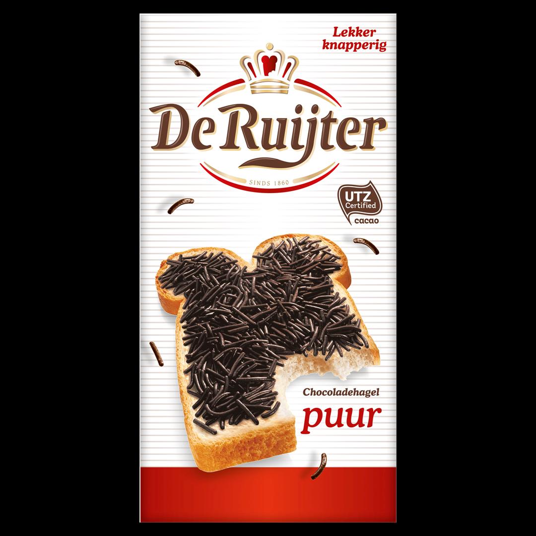 Productafbeelding De Ruijter Chocoladehagelslag Puur 240 g Doos